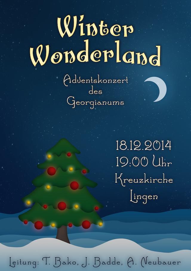 Plakat Adventskonzert 2014