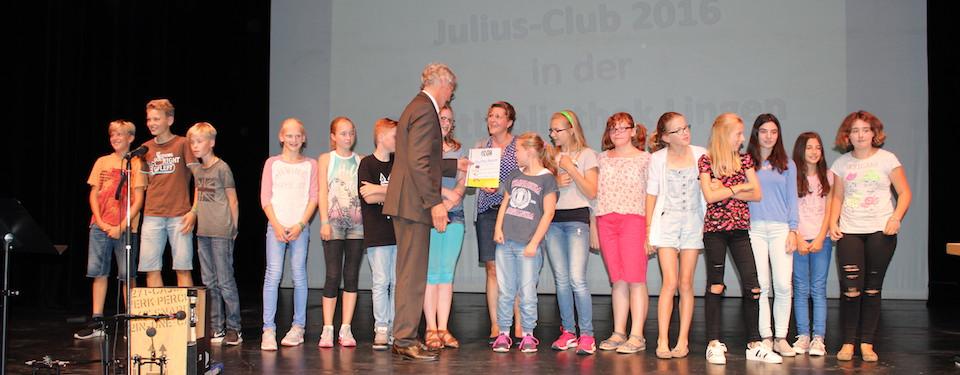 Julius-Club 2016 - Die 7a erhält 17 Diplome!