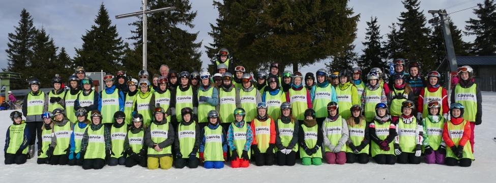 Skifahrt der Klassen 7