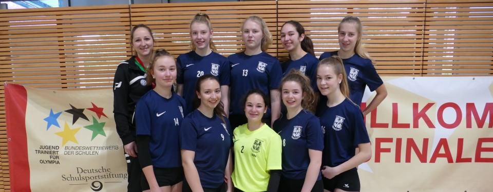 Das Volleyballteam belegt Platz 11 beim Bundesfinale in Berlin