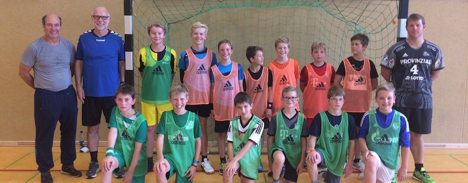 Trainingslager der D-Jugend/WK IV