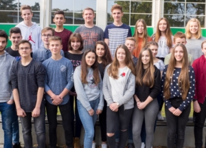 10d Klassenfoto 2017-2018