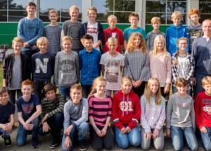 7a Klassenfoto 2017-2018
