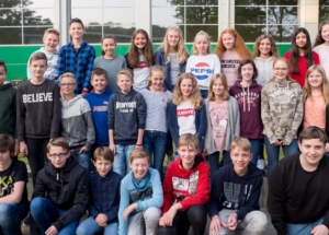 7d Klassenfoto 2017-2018