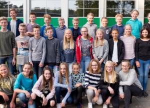7e Klassenfoto 2017-2018