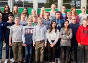 8a Klassenfoto 2017-2018