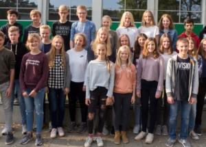 8e Klassenfoto 2017-2018