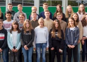 8f Klassenfoto 2017-2018