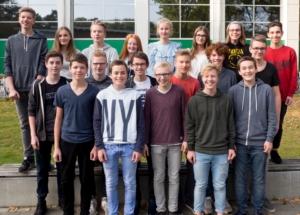 9b Klassenfoto 2017-2018