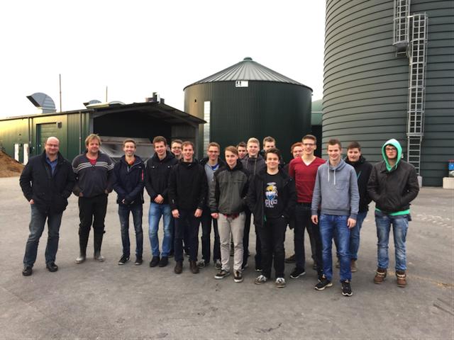 sf2 besucht Biogasanlage