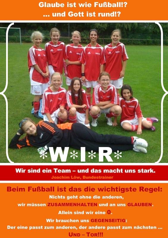 Plakat Fussball