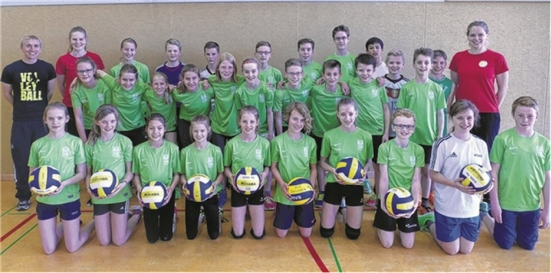 LT 28.05.16 Volleyballtraining mit Profis
