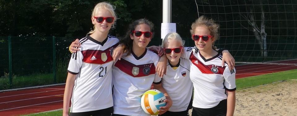 Sieger bei den jüngeren: Team Sandmännchen