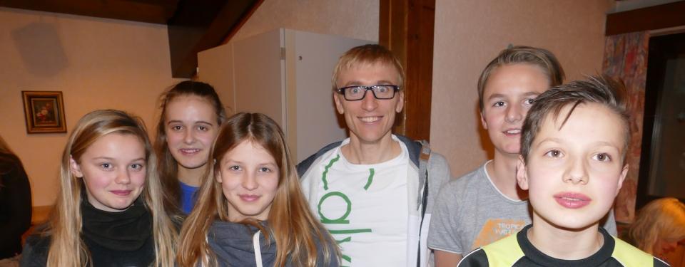 Die Siegerinnen und Sieger beim Biathlon