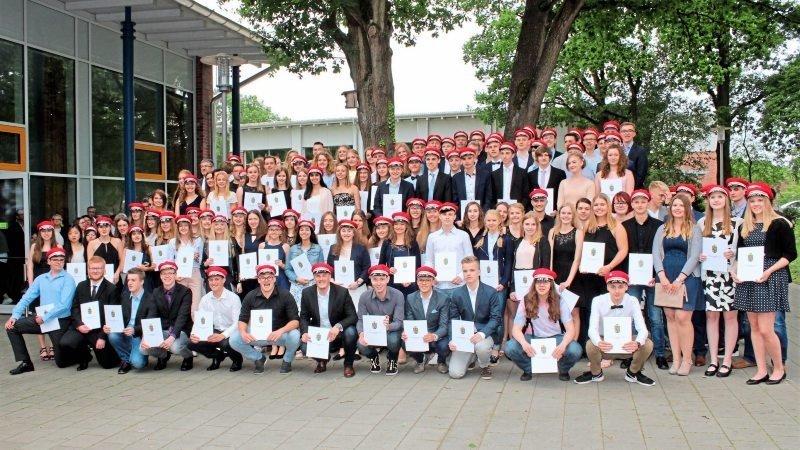 Gruppenbild Abiturientia 2017
