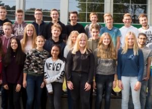 10a Klassenfoto 2017-2018