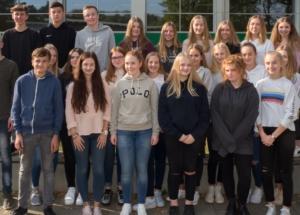 10f Klassenfoto 2017-2018