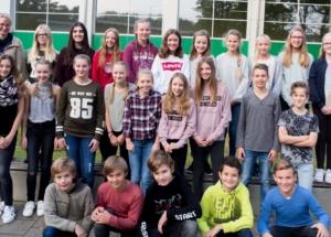 7b Klassenfoto 2017-2018