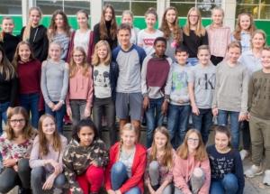7c Klassenfoto 2017-2018