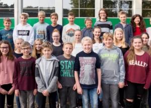 7f Klassenfoto 2017-2018