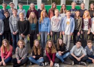 8b Klassenfoto 2017-2018