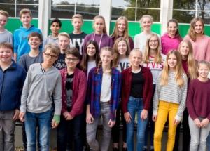 8c Klassenfoto 2017-2018