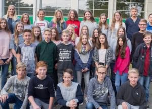 8d Klassenfoto 2017-2018
