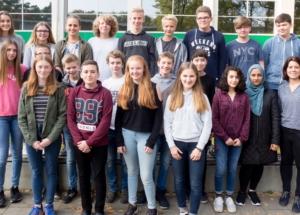 9a Klassenfoto 2017-2018