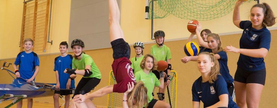 Das besondere Sportprofil am GG: Die Neigungsgruppen