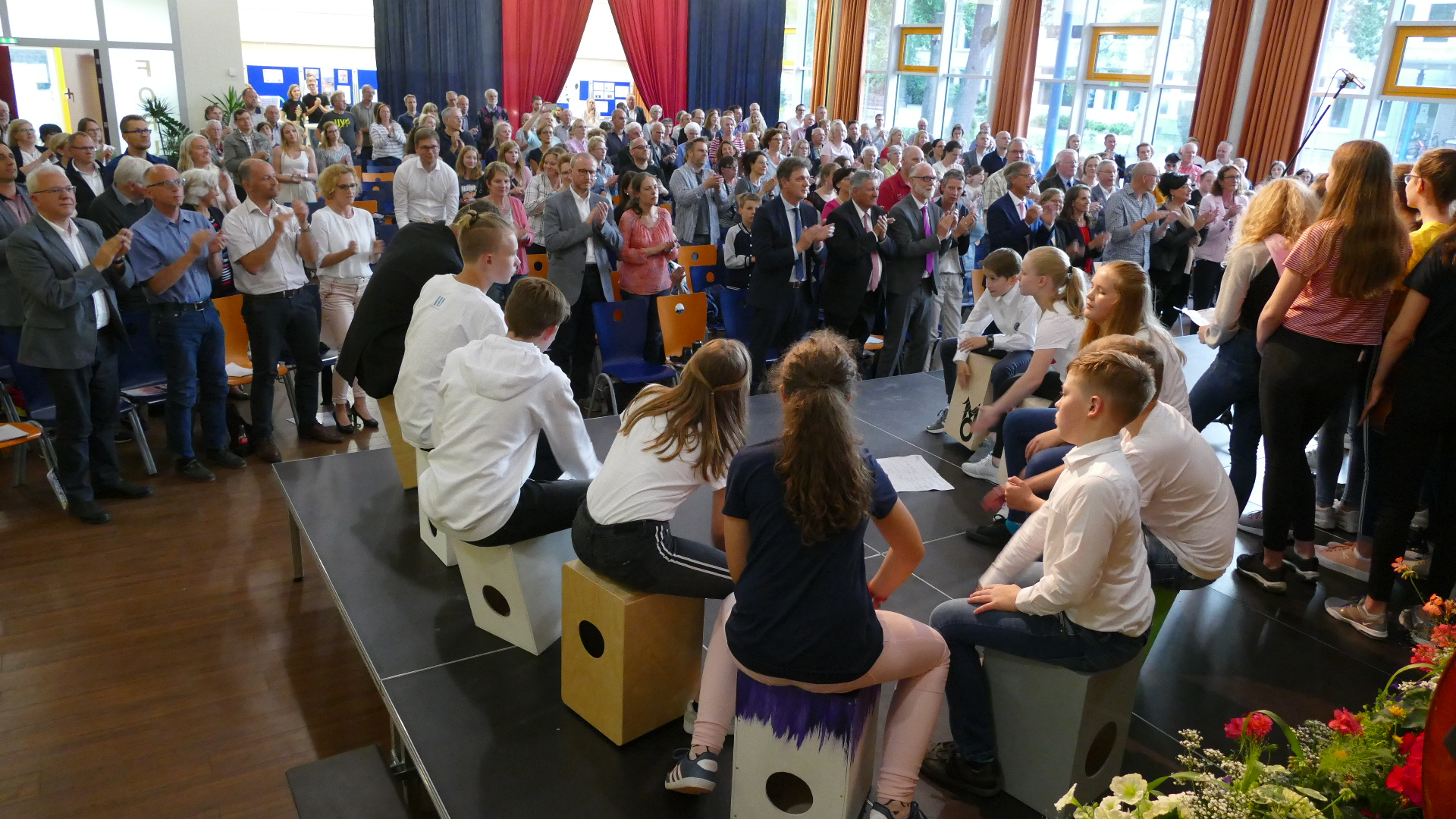 Festliches Sommerkonzert in vollbesetzter Aula des Georgianum begeistert