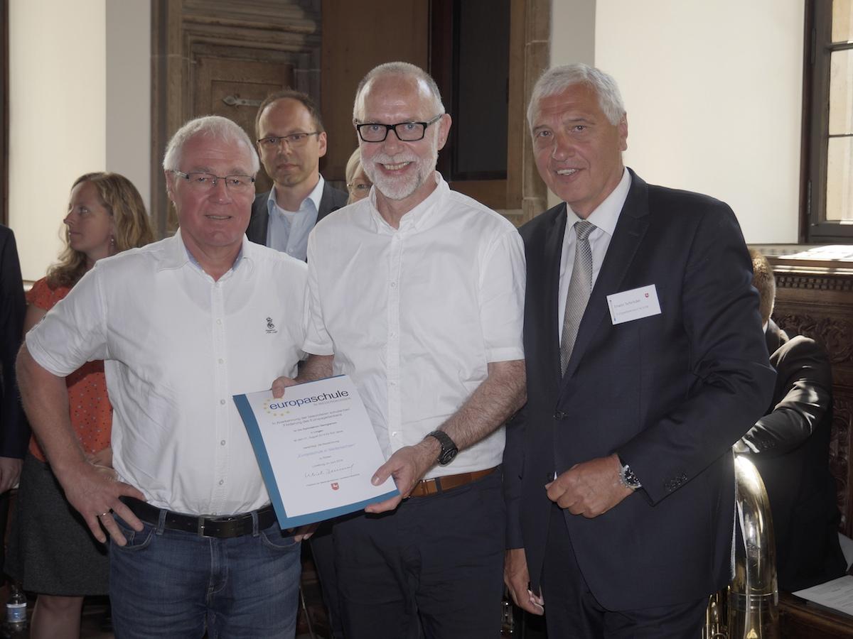 Georgianum erneut als Europaschule zertifiziert