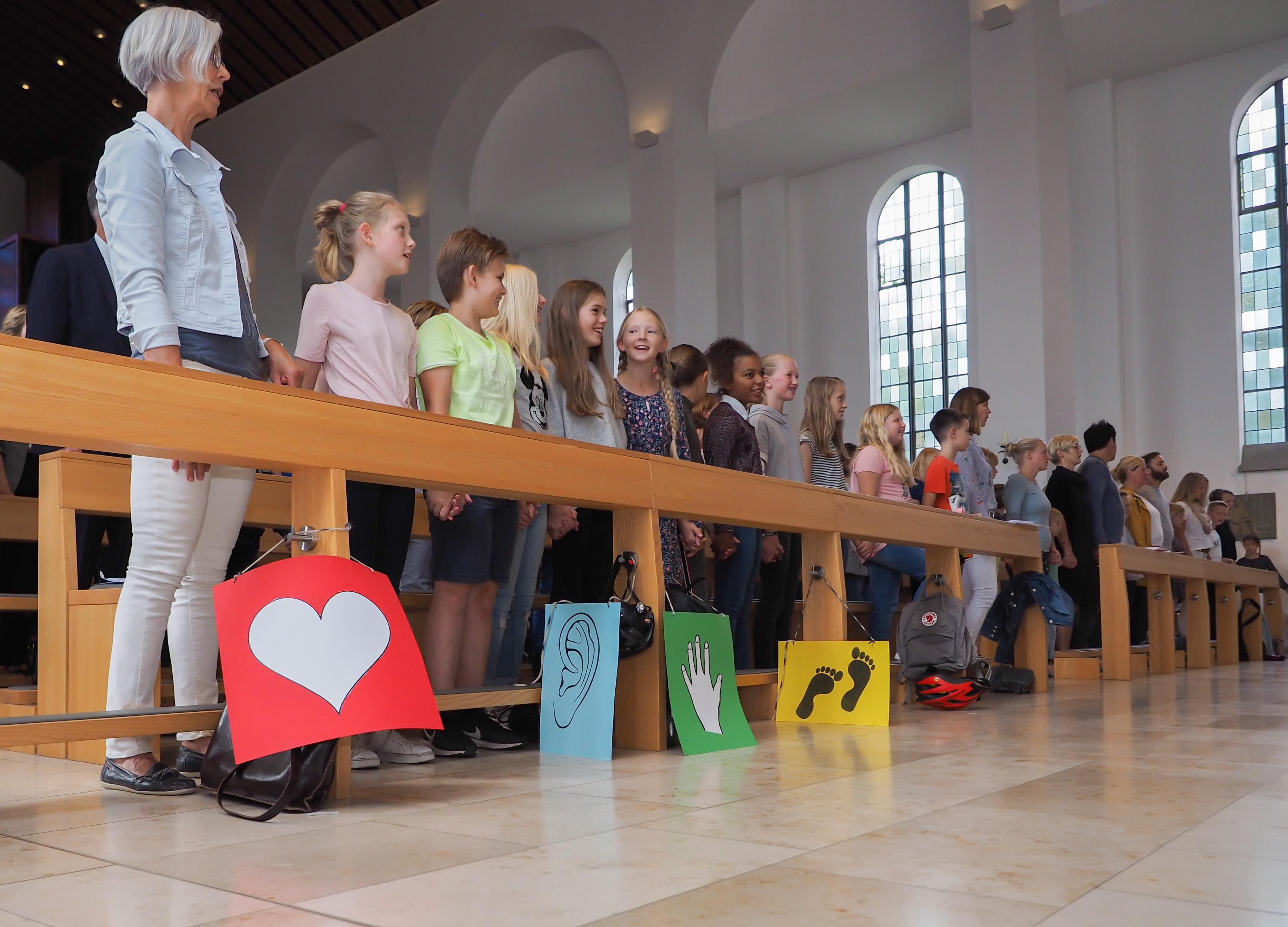 Nur miteinander – Gottesdienst zur Einschulung des fünften Jahrgangs