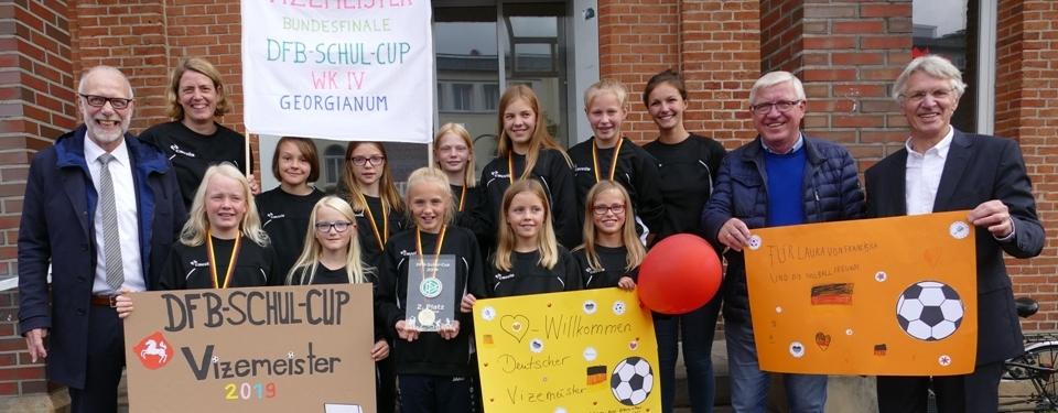 Vizemeister beim DFB-Schulcup in Bad Blankenburg
