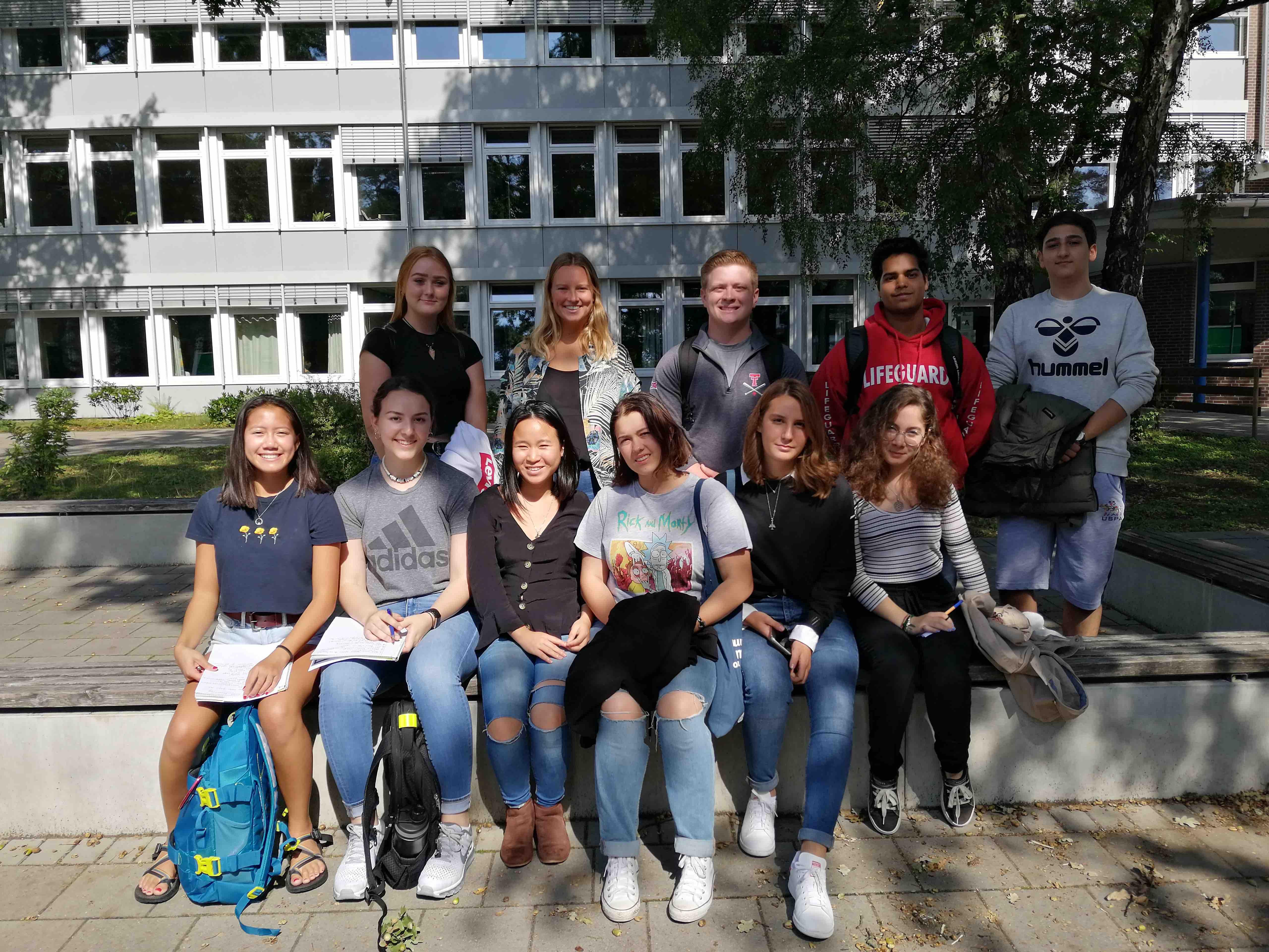 Gelungene Begegnung im Rahmen eines internationalen Schüleraustauschs