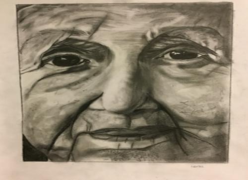 Kunstwerk des Monats November von Lena Koch, Klasse 10f