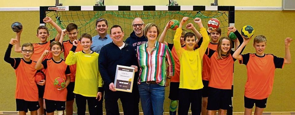Deutscher Handballbund lobt Projekt von HC Lingen und Gymnasium Georgianum