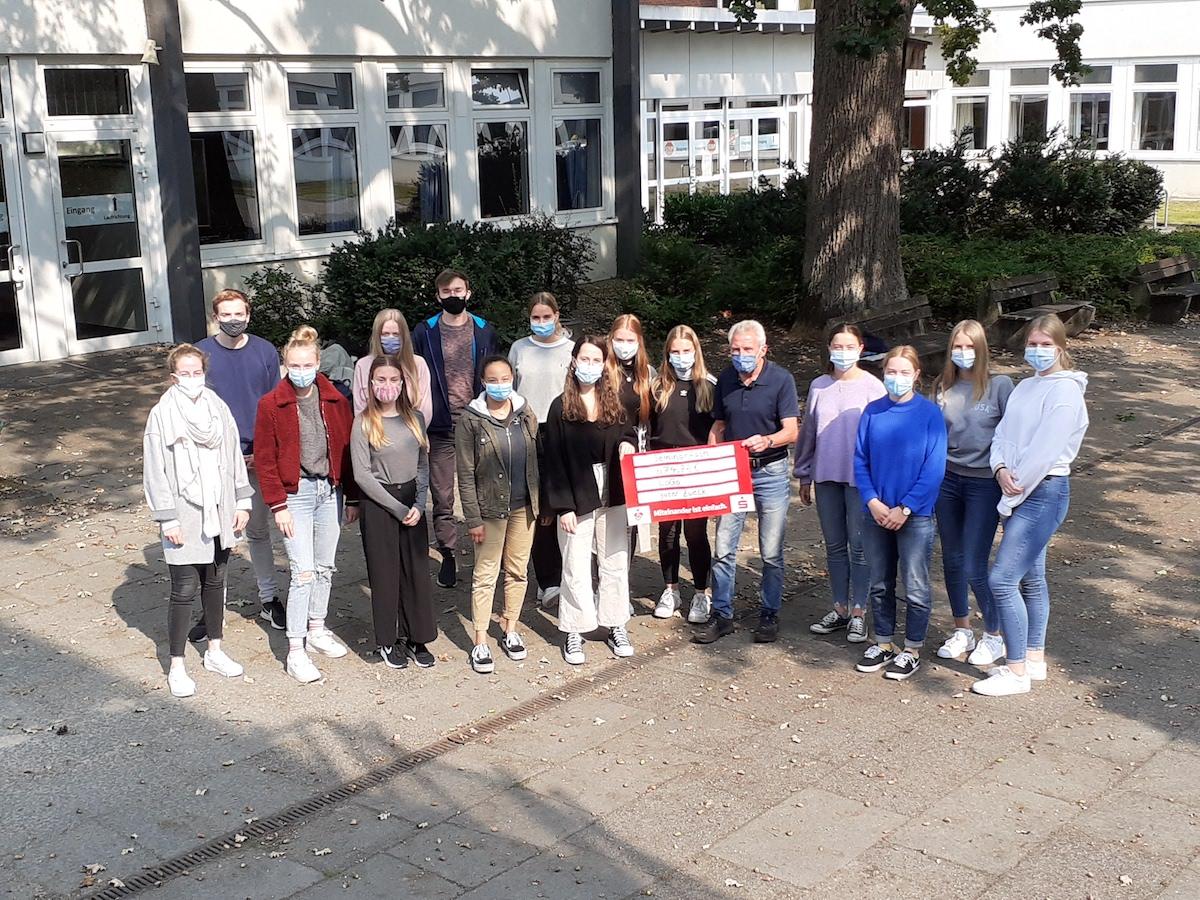 Georgianer für Menschen in Not: 675€ - Spende für LoGo e.V in Lingen