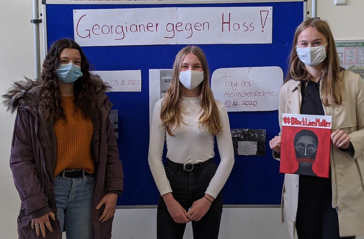 Georgianer gegen Hass