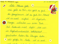 Briefe der Fünftklässler an ihre ehemalige Grundschule