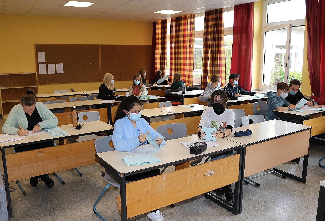 Schüler wählen bei der JUNIOR-Wahl anders