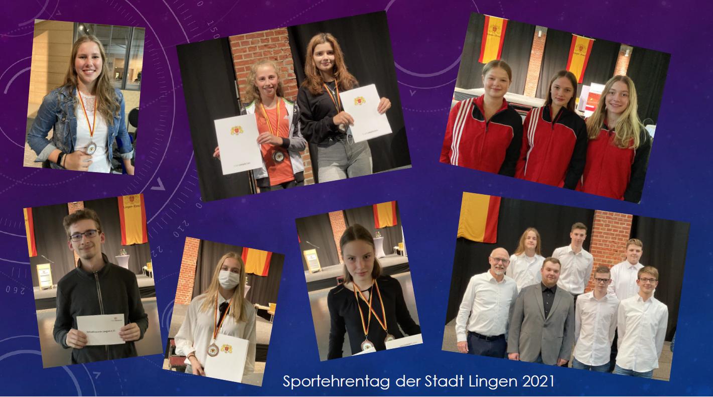 Auszeichnungen beim Sportehrentag 2021