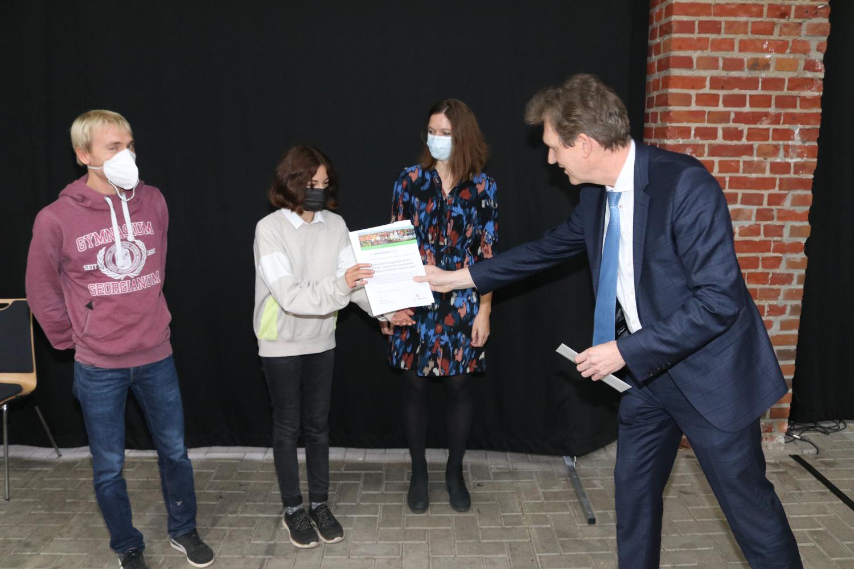 Umweltpreis für Umweltschule – Georgianum ausgezeichnet